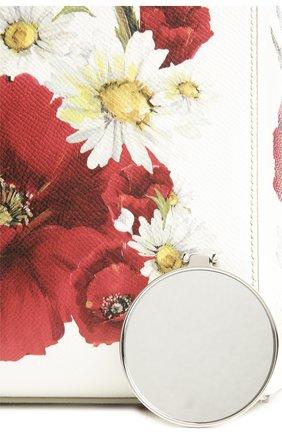 Кожаная сумка Sicily с цветочным принтом   Фото №6