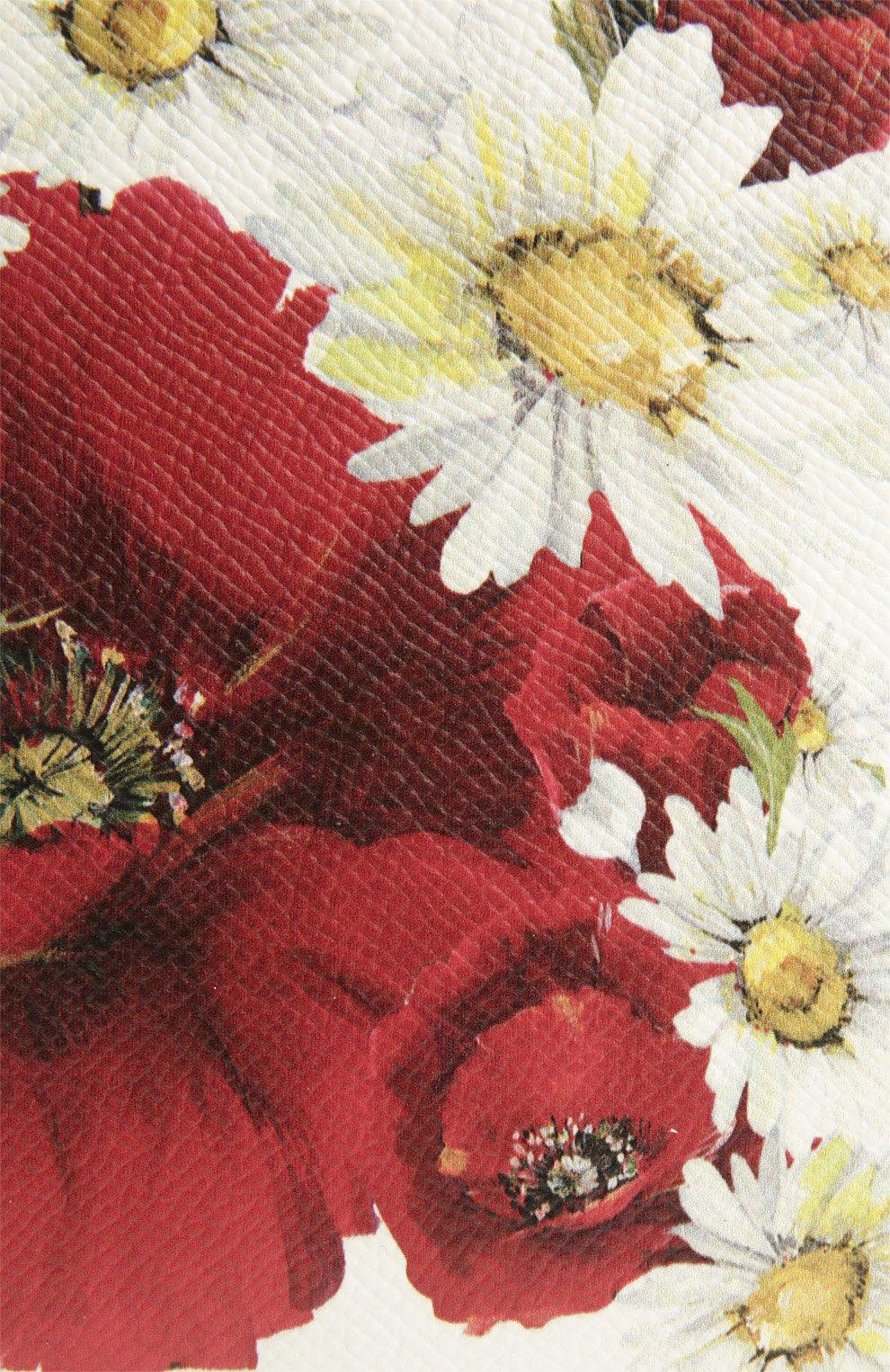Кожаная сумка Sicily с цветочным принтом   Фото №7