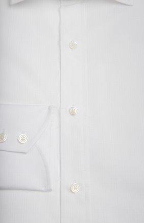 Мужская сорочка TOM FORD белого цвета, арт. 7FT10894C1IG | Фото 2