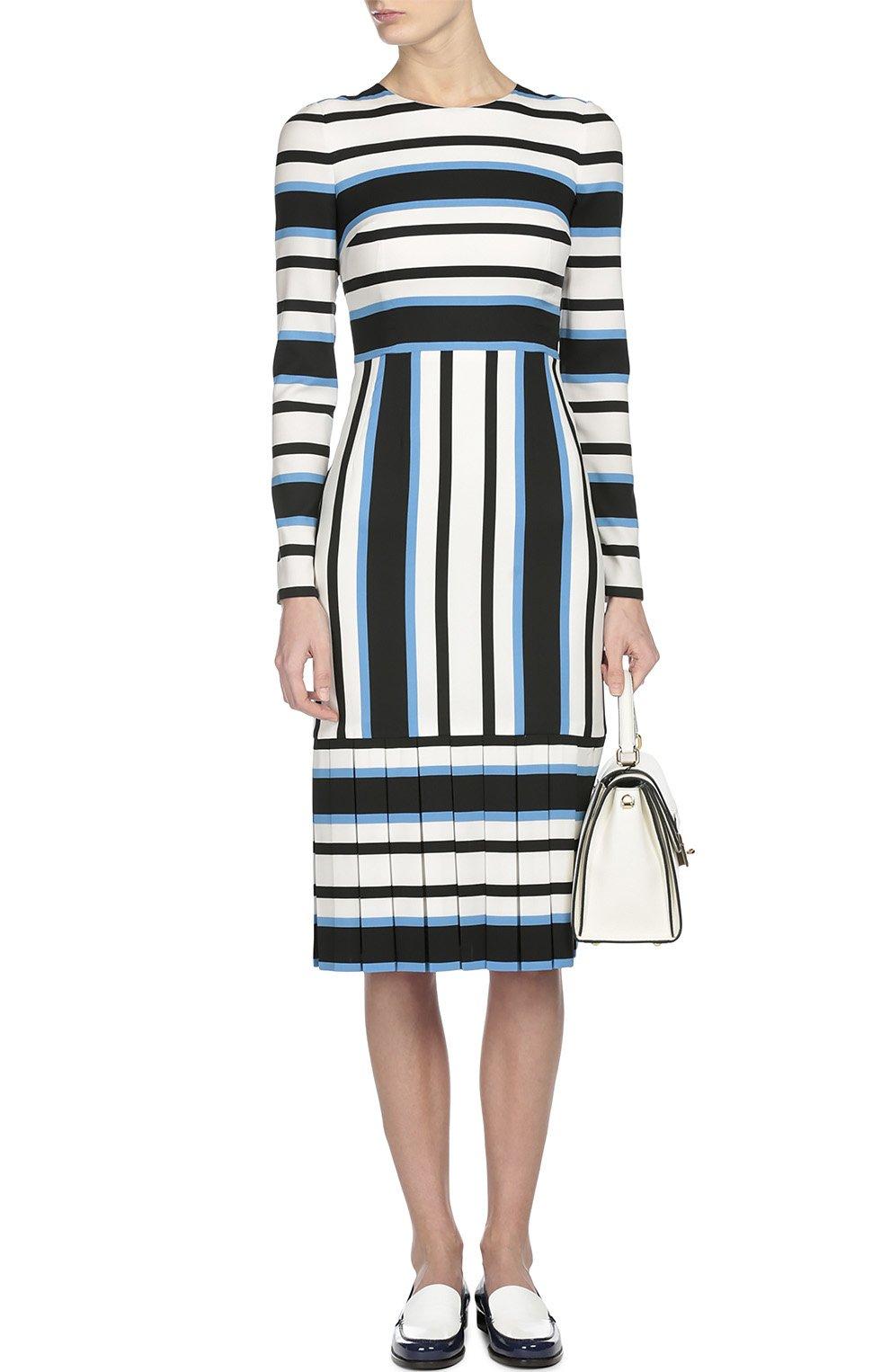 Платье Dolce & Gabbana синее | Фото №4