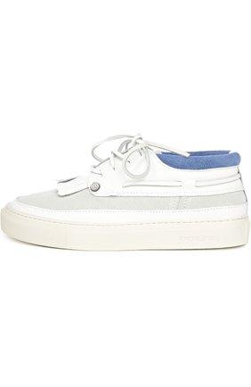 Кроссовки Dolfie белые | Фото №1