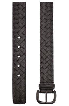 Мужской кожаный ремень BOTTEGA VENETA темно-коричневого цвета, арт. 173784/V4650 | Фото 2