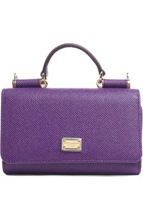 Кожаный чехол Mini Von для iPhone 6/6S Dolce & Gabbana  | Фото №1