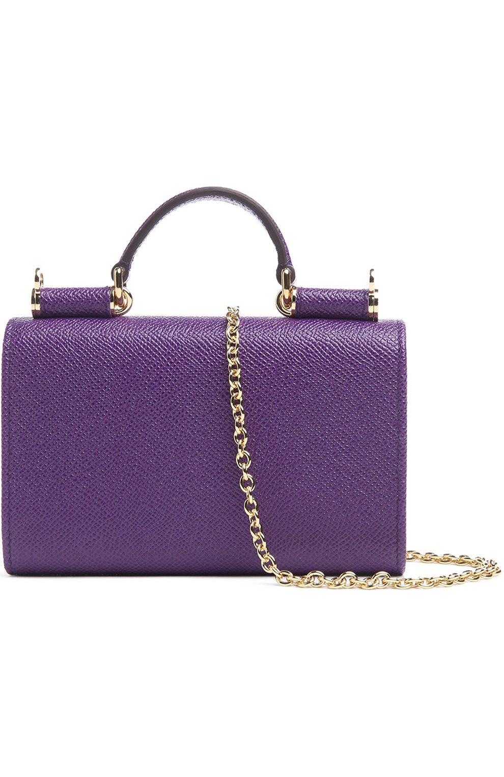 Кожаный чехол Mini Von для iPhone 6/6S Dolce & Gabbana  | Фото №2