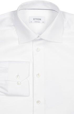 Мужская хлопковая сорочка с воротником кент ETON белого цвета, арт. 4707 79311 | Фото 1