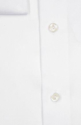 Мужская хлопковая сорочка с воротником кент ETON белого цвета, арт. 4707 79311 | Фото 2