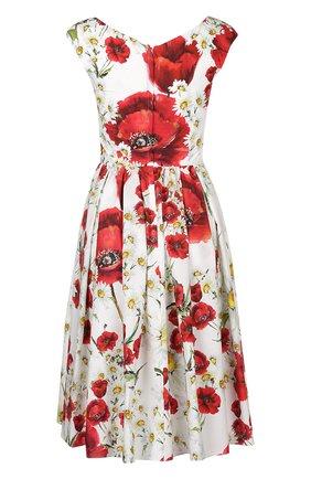 Платье Dolce & Gabbana белое | Фото №2