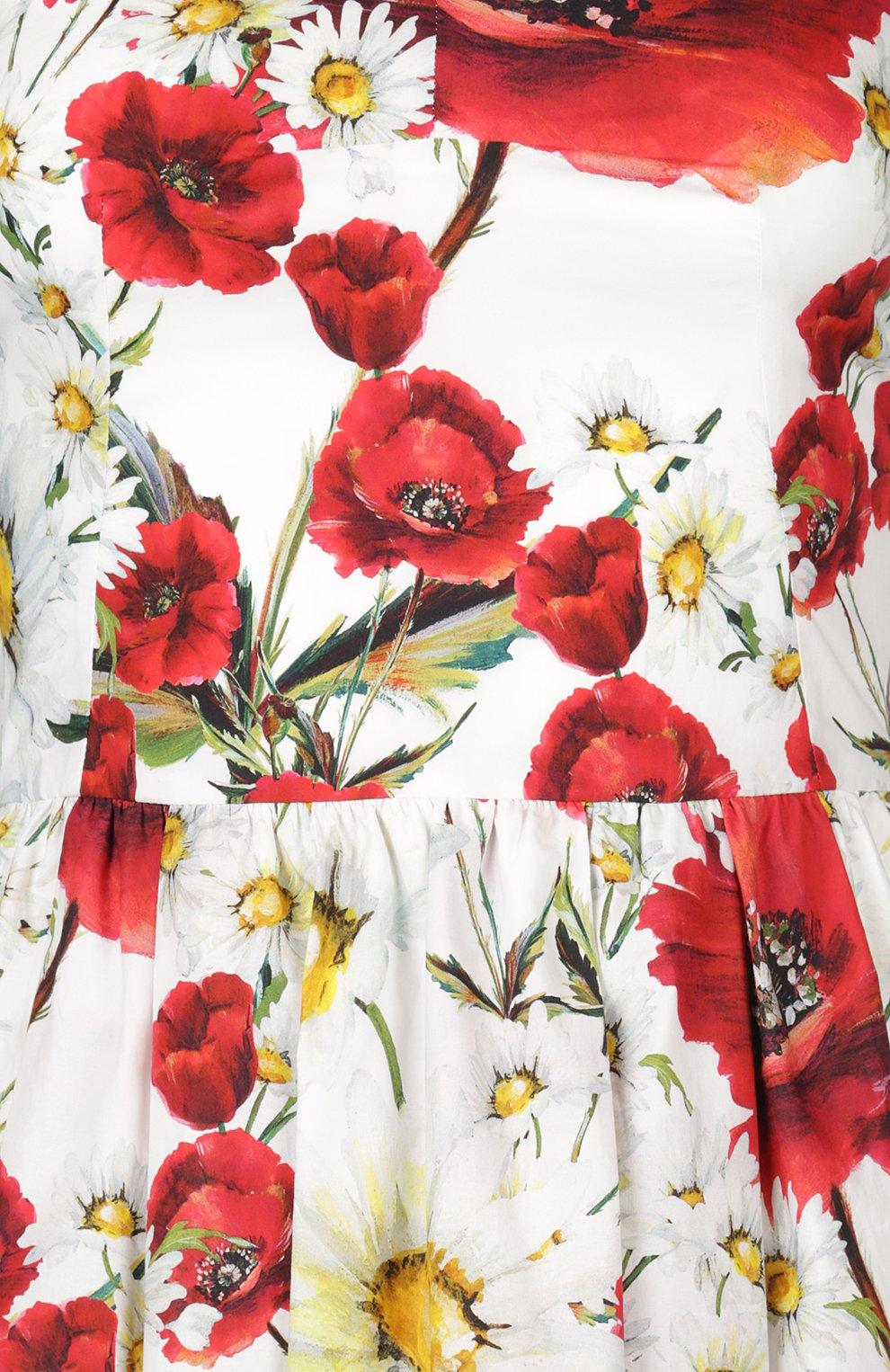 Платье Dolce & Gabbana белое | Фото №3