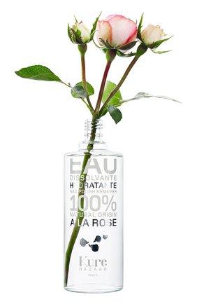 Увлажняющая жидкость для снятия лака с экстрактом розы   Фото №1