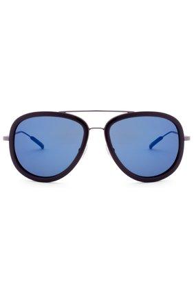 Женские солнцезащитные очки 3.1 PHILLIP LIM темно-синего цвета, арт. PL139C3 SUN | Фото 1