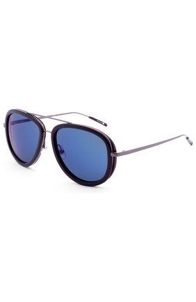 Женские солнцезащитные очки 3.1 PHILLIP LIM темно-синего цвета, арт. PL139C3 SUN | Фото 2