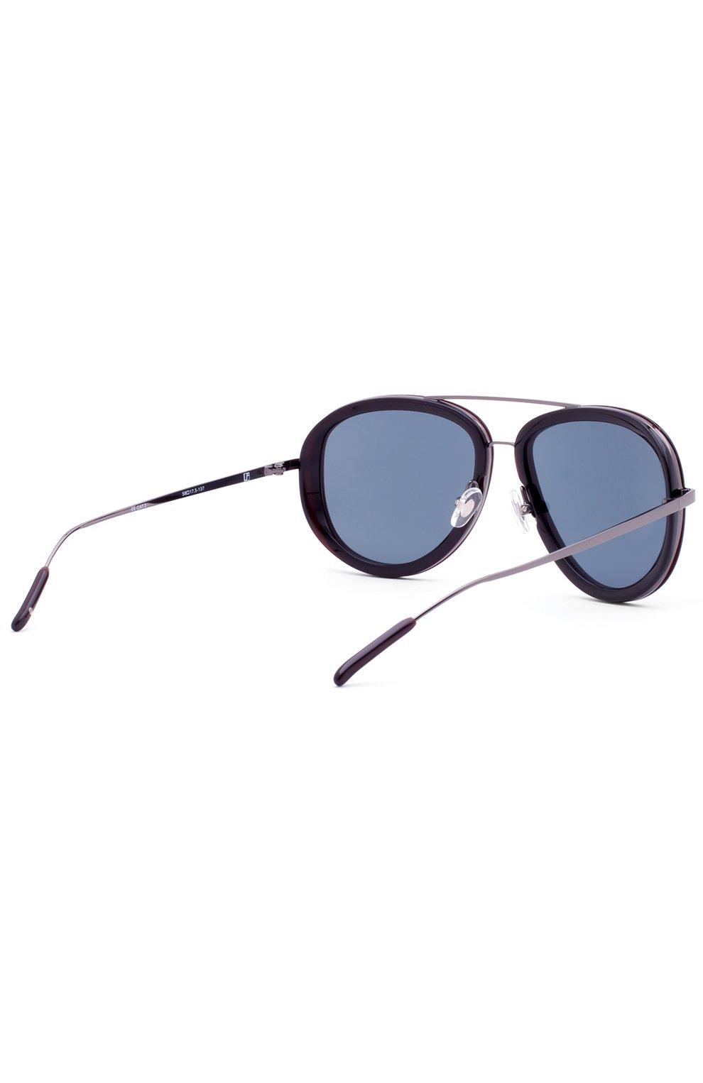 Женские солнцезащитные очки 3.1 PHILLIP LIM темно-синего цвета, арт. PL139C3 SUN | Фото 3