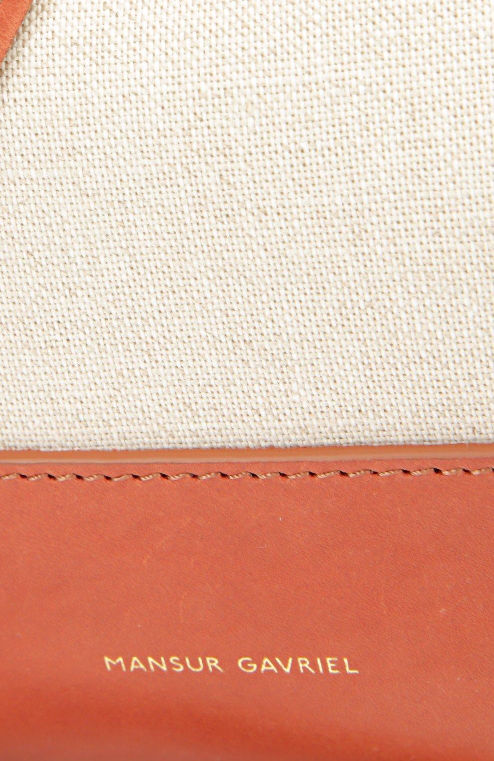 Рюкзак из текстиля с кожаной отделкой | Фото №5