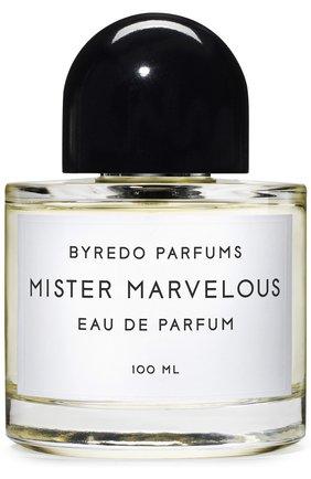 Мужской парфюмерная вода mister marvelous BYREDO бесцветного цвета, арт. BR807325 | Фото 1