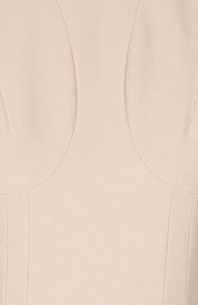 Приталенное платье без рукавов   Фото №3