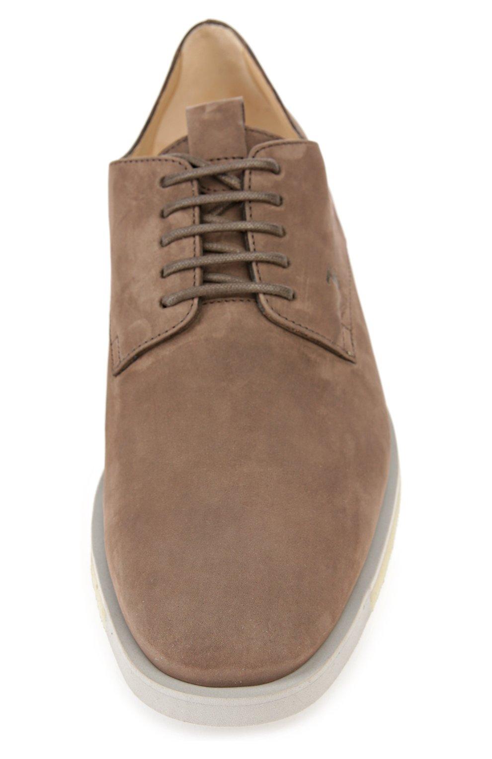 Туфли Tod's коричневые   Фото №4