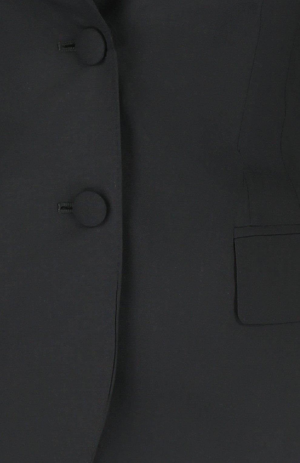 Приталенный жакет на пуговицах | Фото №3