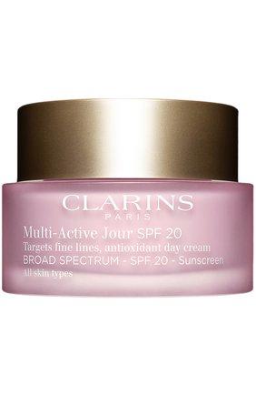 Женское дневной гель multi-active для всех типов кожи CLARINS бесцветного цвета, арт. 80012019 | Фото 1