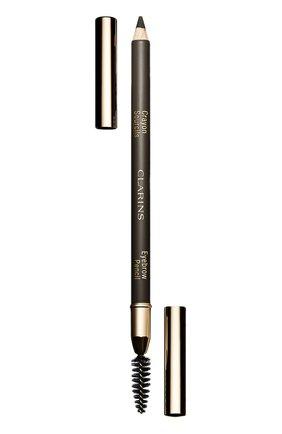 Женский карандаш для бровей crayon sourcils, оттенок 01 CLARINS бесцветного цвета, арт. 4213310 | Фото 1