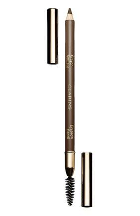 Женский карандаш для бровей crayon sourcils, оттенок 03 CLARINS бесцветного цвета, арт. 4213510 | Фото 1
