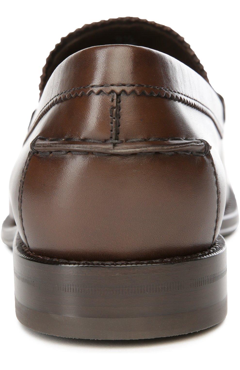 Лоферы Cuoio Formale Ro Tod's коричневые | Фото №3