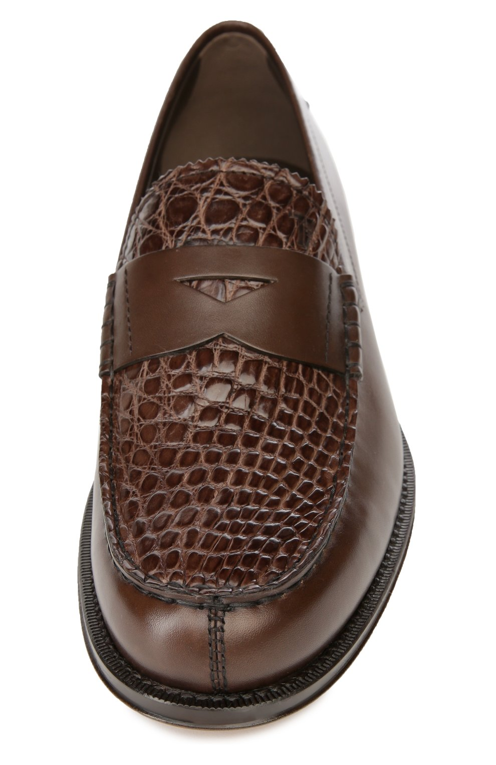 Лоферы Cuoio Formale Ro Tod's коричневые | Фото №4