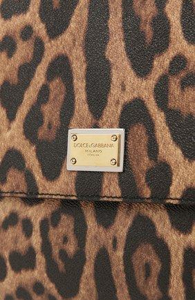 Сумка Sicily large с леопардовым принтом | Фото №6