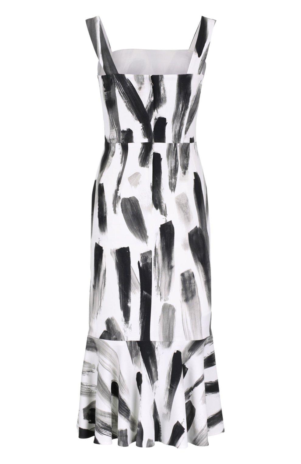 Платье-футляр с юбкой годе | Фото №2