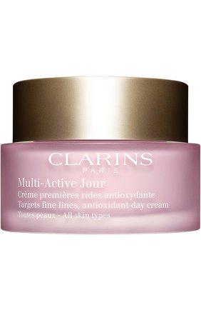 Женское дневной крем при первых возрастных изменениях для всех типов кожи CLARINS бесцветного цвета, арт. 80009043 | Фото 1