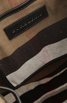 Рюкзак Chiltern из клетчатого текстиля с кожаной отделкой | Фото №5
