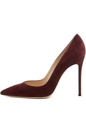 Замшевые туфли Gianvito 105 на шпильке   Фото №1