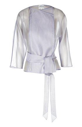 Шелковый прозрачный жакет-кимоно | Фото №1