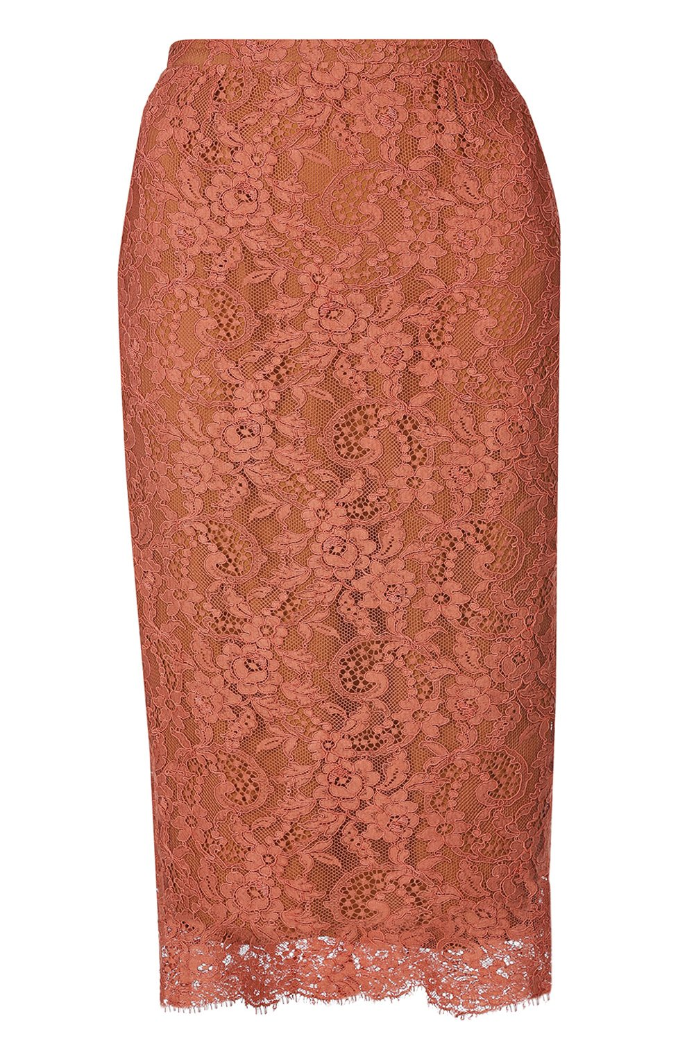 Кружевная юбка-карандаш | Фото №1