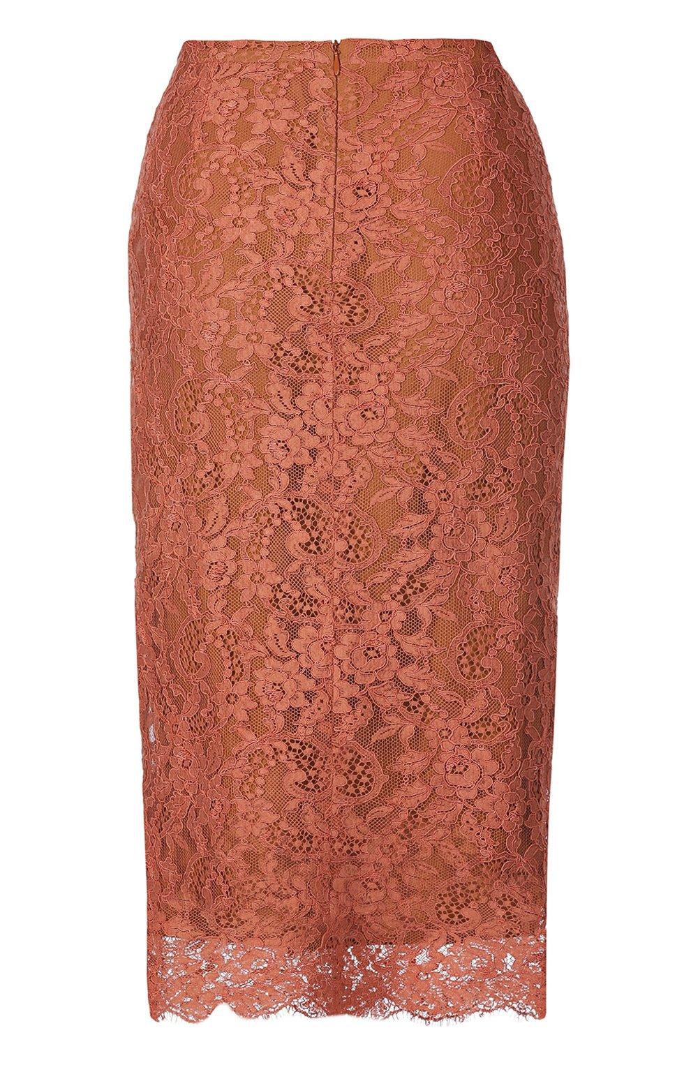 Кружевная юбка-карандаш | Фото №2