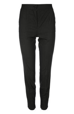 Брюки-скинни с завышенной талией Dolce & Gabbana черные | Фото №1