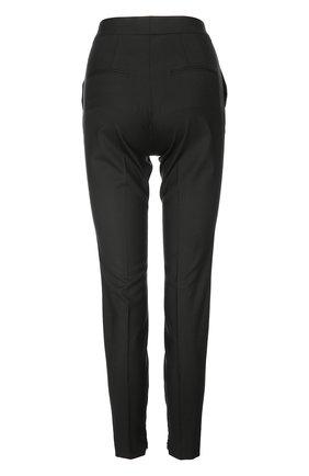 Брюки-скинни с завышенной талией Dolce & Gabbana черные | Фото №2