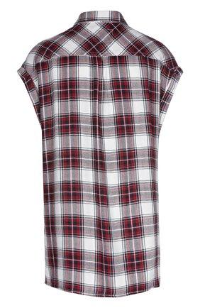 Женская блуза в клетку без рукавов с накладными карманами Rails, цвет красный, арт. RWSP16725 в ЦУМ   Фото №1