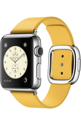 Apple Watch 38mm Silver Stainless Steel Case with Modern Buckle   Фото №1