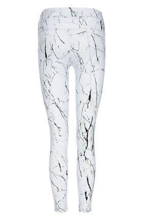 Спортивные леггинсы с принтом Varley белого цвета | Фото №1