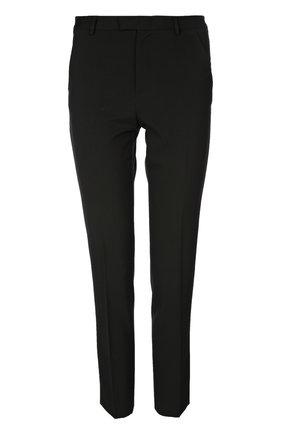 Прямые брюки со стрелками REDVALENTINO черные | Фото №1