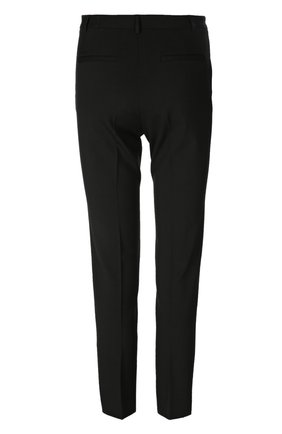 Прямые брюки со стрелками REDVALENTINO черные | Фото №2