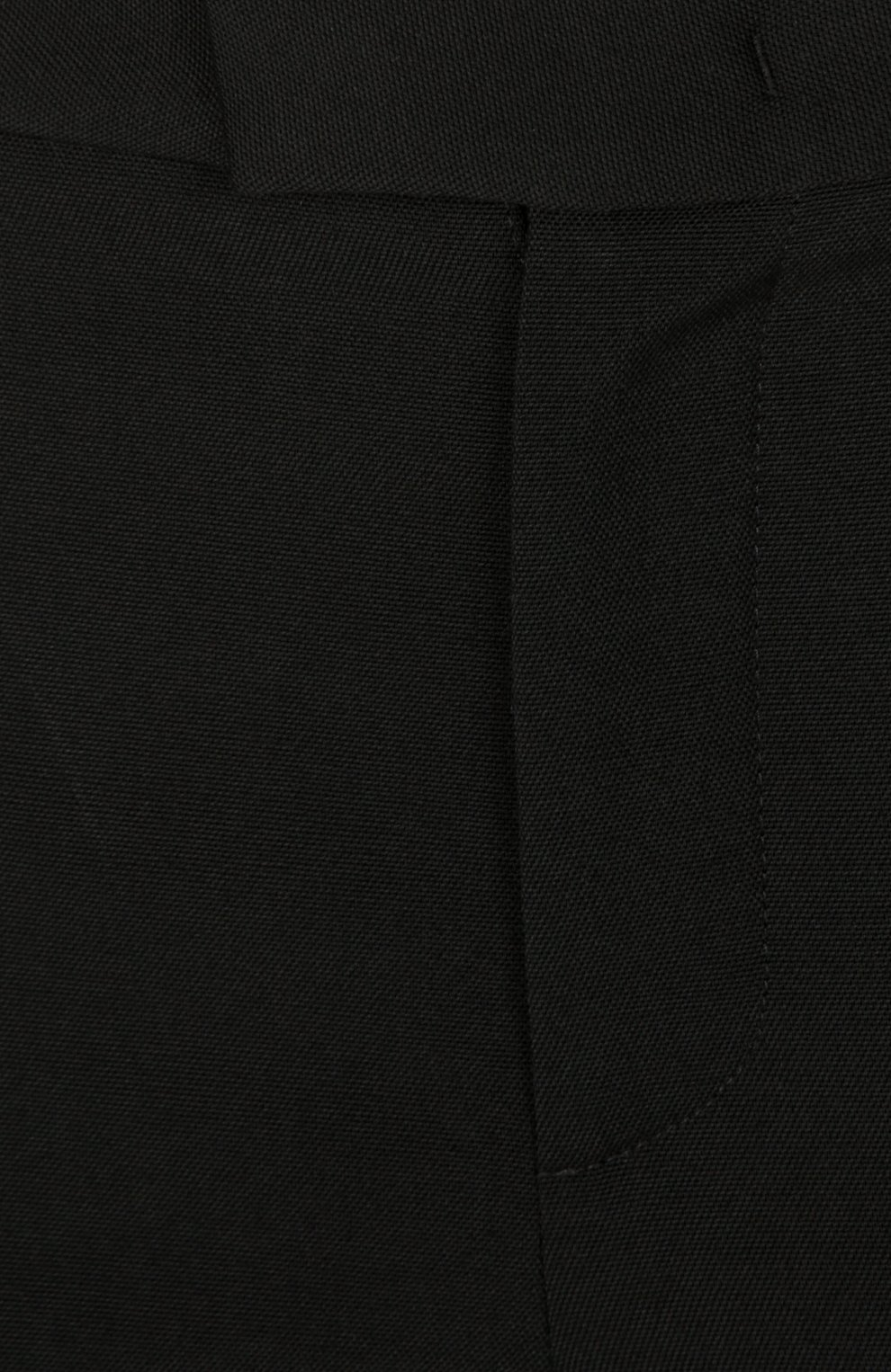 Прямые брюки со стрелками REDVALENTINO черные | Фото №3