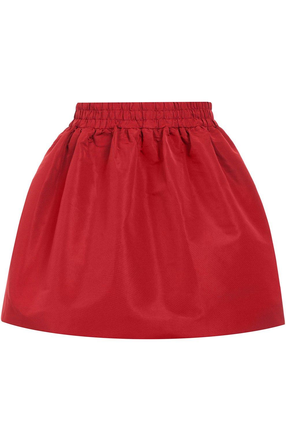 Мини юбка-тюльпан с эластичным поясом | Фото №1