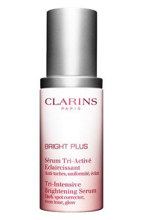 Женская сыворотка, выравнивающая и осветляющая тон кожи white plus CLARINS бесцветного цвета, арт. 1264180 | Фото 1