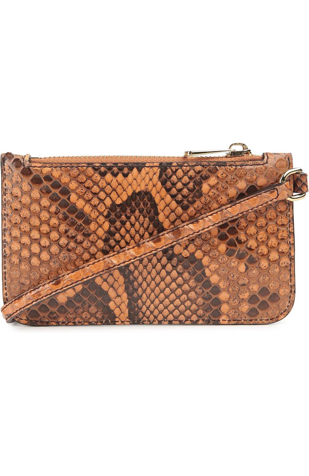 Плетеная сумка-корзинка Agnese с аксессуарами из кожи питона и игуаны Dolce & Gabbana разноцветная цвета | Фото №4