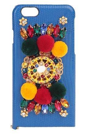 Плетеная сумка-корзинка Agnese с аксессуарами из кожи питона и игуаны Dolce & Gabbana разноцветная цвета | Фото №8