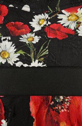 Мини-сарафан с цветочным принтом | Фото №3