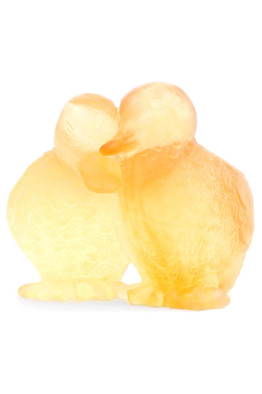 Мужского скульптура ducklings DAUM бесцветного цвета, арт. 02484 | Фото 1