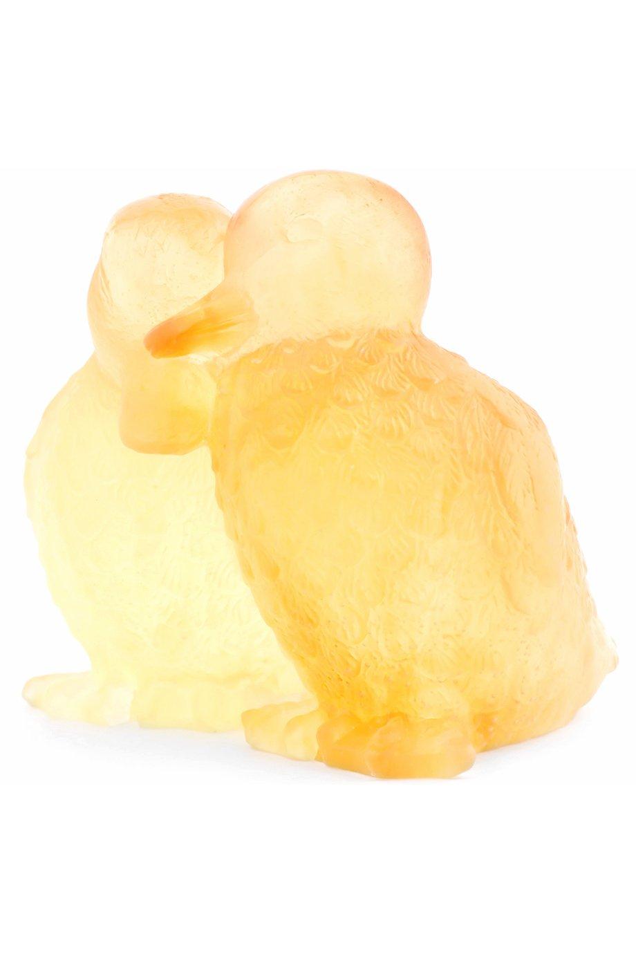 Мужского скульптура ducklings DAUM бесцветного цвета, арт. 02484 | Фото 2