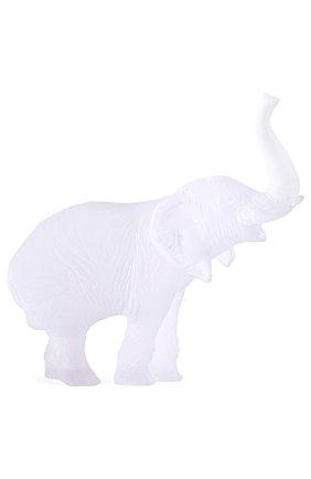Мужского скульптура elephant DAUM прозрачного цвета, арт. 03239-3 | Фото 1